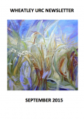 WURC Newsletter Cover September 2015