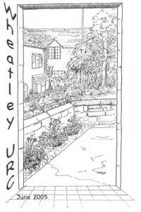 June 2005 Newsletter Cover Art by Christine Bainbridge