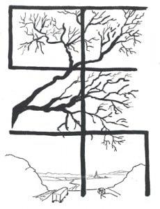 March 2005 Newsletter Cover Art by Christine Bainbridge