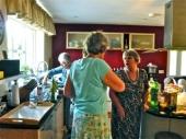 In the manse kitchen