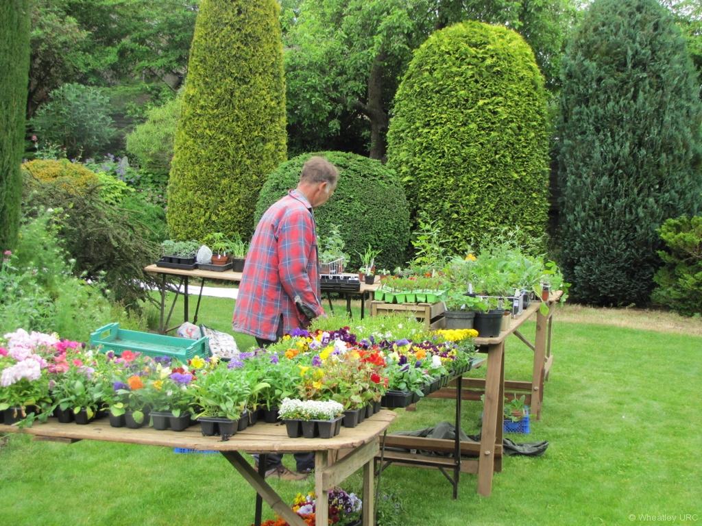 Farmer Bennet surveys his wares