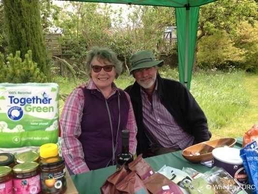 2015 Fete - Fairtrade with Liz and Mark
