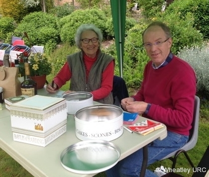 2015 Fete - Rafflers Sybil and Peter