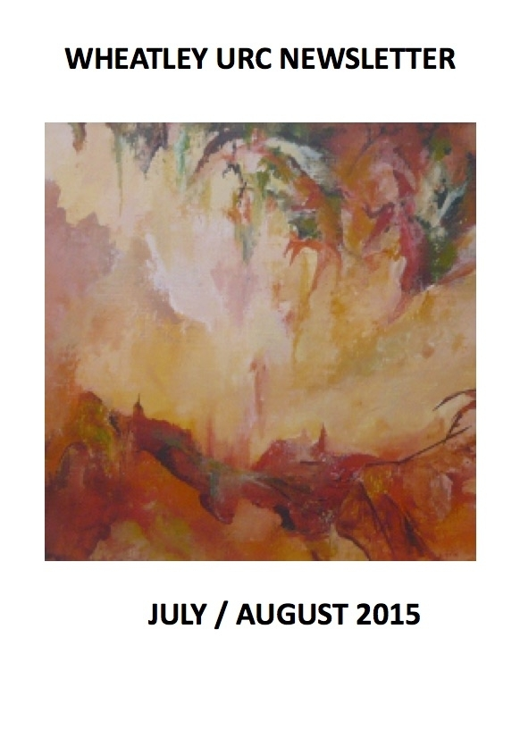 WURC Newsletter cover July/August 2015