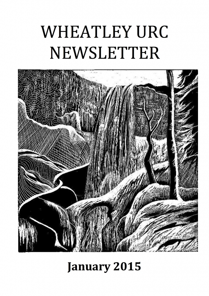 WURC Newsletter Cover January 2015