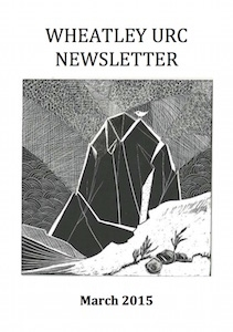 WURC Newsletter Cover March 2015
