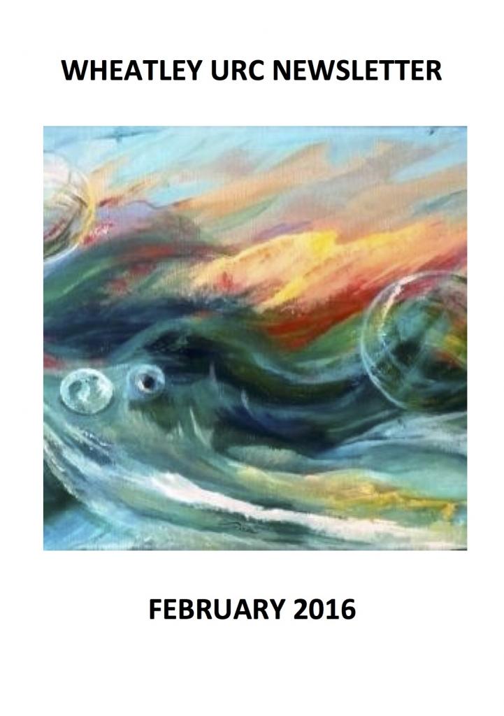 WURC Newsletter Cover February 2016