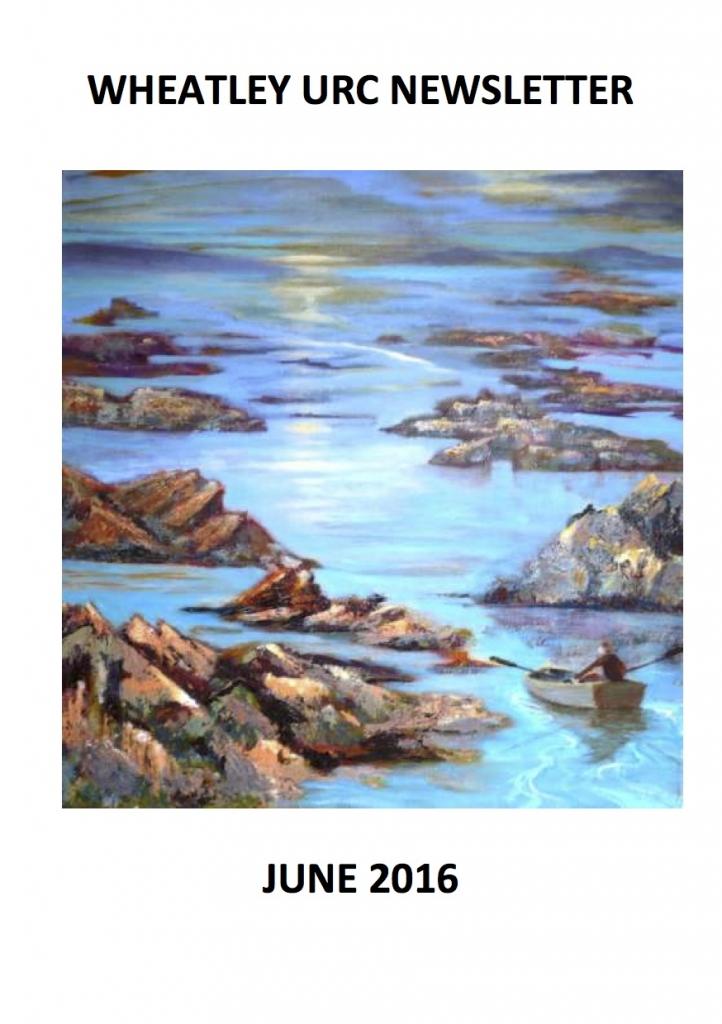 WURC Newsletter Cover June 2016