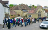 The Walkers depart from Crown Square (URC)