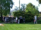 Gathering in the Old Burial Ground